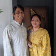 Sunita and Venkat Reddy