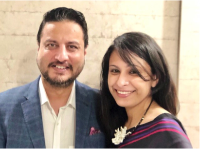 Shilpa and Harjeet Kohli